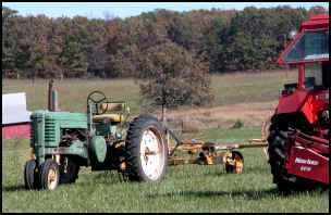 benefits of classic tractors