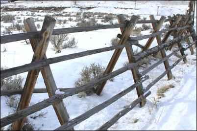 Jackleg fence