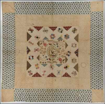 Medallion quilt, pre-1779