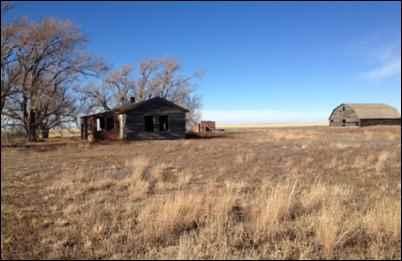 Caroline Henderson homestead