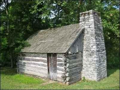 Daniel Boone's Kentucky Cabin
