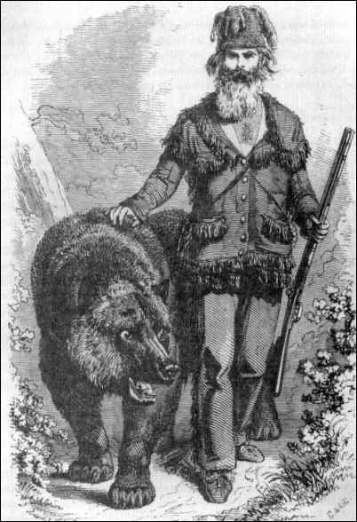 John Grizzly Adams, The Mountain Men: America's Original Survivalists, homesteading, homesteaders, homestead