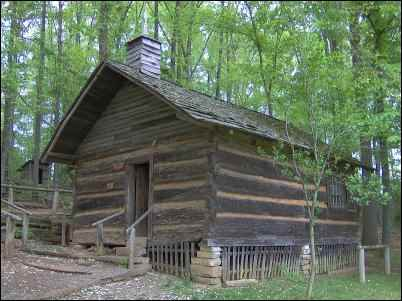 Appalachian cabin