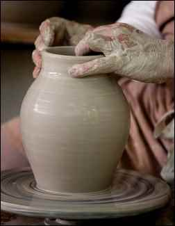 handmade pottery, make money selling pottery