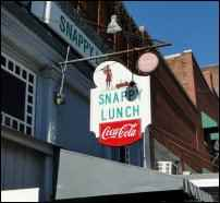 where is the real Mayberry, Mount Airy, Snappy Lunch