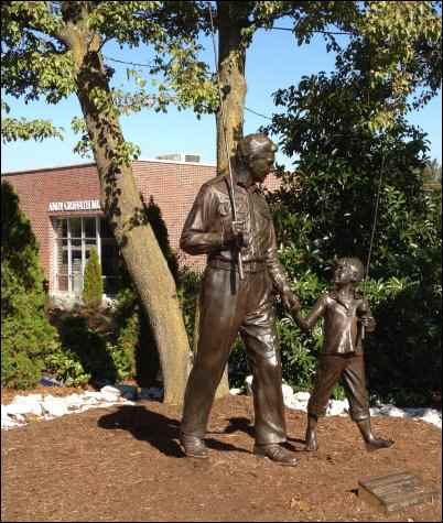 Andy Griffith Museum, where is the real Mayberry, Mount Airy