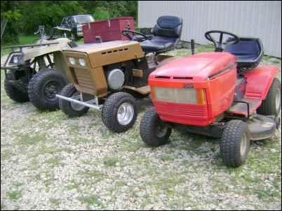 Pint-size Plow-horses: Garden Tractors on the Homestead