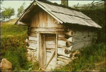 Dug-out Shed in Pennsylvania