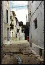 Typical Picena Spain street
