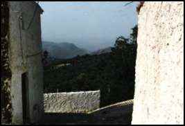 The view from Picena Spain's walls